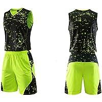 Baloncesto Camiseta De Uniforme Respirable Deportiva De Basket Jersey para Adulto Camisa De Baloncesto,Green