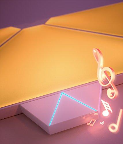 nanoleaf Light Panels (Aurora) Rhythm Musik & Sound Nachrüstmodul [Plug and Play | Faszinierende Effekte | Mikrofon & 3,5mm Klinkenanschluss] - 2