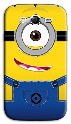 Mixroom - Cover Custodia Case in TPU Silicone Morbida per Samsung Galaxy Grand Neo I9060 (Plus) W354 Minions