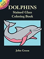 Dolphins : Stained Glass Coloring Book