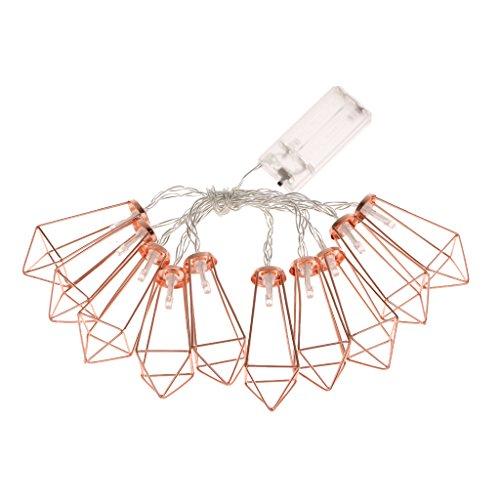 LED Dekoleuchte roségold - 3