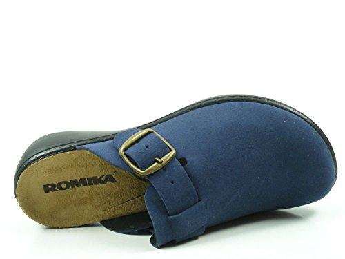 Romika 16311-10 Ibiza Home Pantofole Donna Blau
