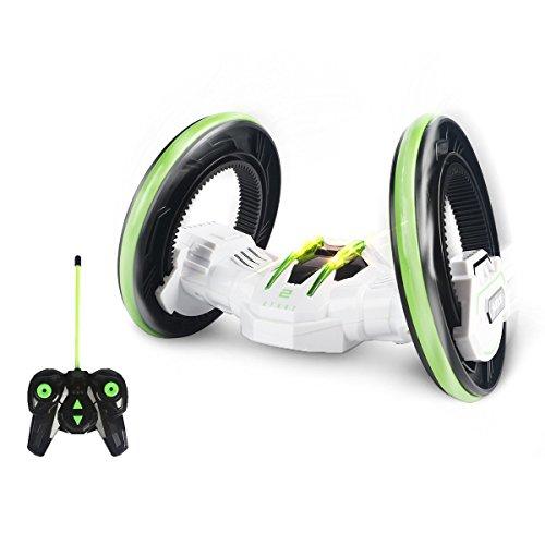 SainSmart Jr. 2 Räder RC Stunt-Rennwagen mit Licht 2-seitig Extreme High schnellste Mini Speed Tumbling (Monster Kostüme High Kleinkind)