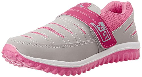 SHOES T20 WOMEN'S GREY & PINK RUNNING SHOES
