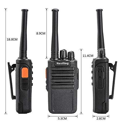 Zoom IMG-2 nestling 2pz walkie talkie professionali