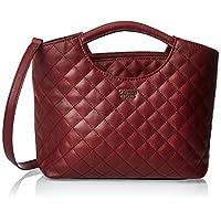 GUESS Womens Handbags, Red (Merlot) - VG743605