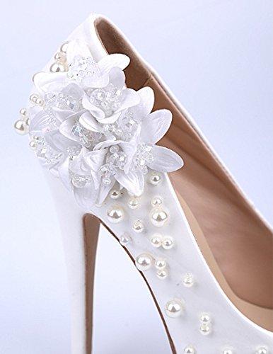 TDA - Scarpe con plateau donna White