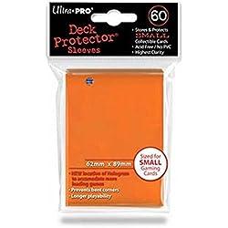 Ultra Pro 60 fundas de 62 x 89 naranja