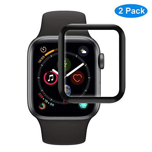 RHESHINE Schutzfolie Displayschutz Kompatibel für Apple Watch Series 4 44mm Panzerglas 9H Hartglas iWatch Displayschutzfolie Panzerfolie Anti-Kratzer Ultra Dünn [2 Stück]
