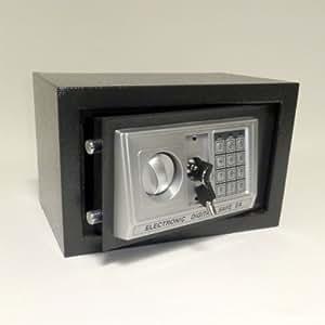 m beltresor safe tresor code m tastatur 2 x notschl ssel ca 12 l anthrazit. Black Bedroom Furniture Sets. Home Design Ideas