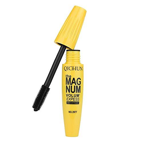 Watopi Long Curling Makel Eyelash Cils pour les yeux mascara en fibre imperméable multicolore