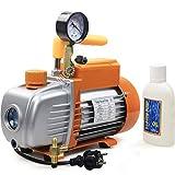 BACOENG Bomba de Vacío de Etapa Única, 85 litros/min, 0.8Pa, 185W