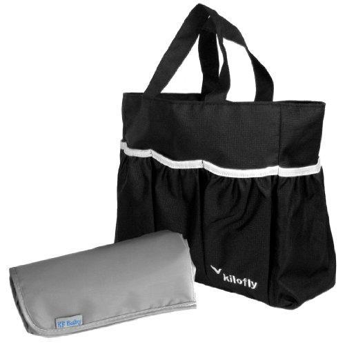 kilofly-sac-a-langer-insert-organiseur-poches-multiples-a-langer-tapis-a-langer