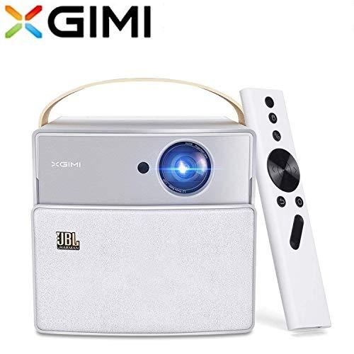 XGIMI CC Aurora Mini Beamer Tragbaren 350 ANSI Lumen 3D HD Projektor Smart Heimkino mit JBL Lautsprecher Android System Support 4K 20.000mAh Akku Tragetasche dabei (CC Aurora)