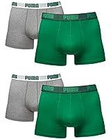 Puma Men's Basic Boxers - Boxer Short - Pack of 4