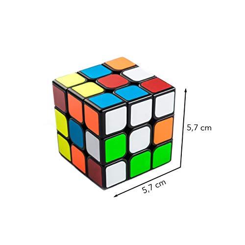 3×3 Zauberwürfel – Original Cubixs Speedcube – Typ Los Angeles – mit optimierten Dreheigenschaften für Speed-Cubing - 5