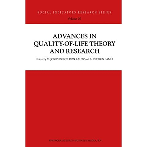 Advances in Quality-of-life Theory and