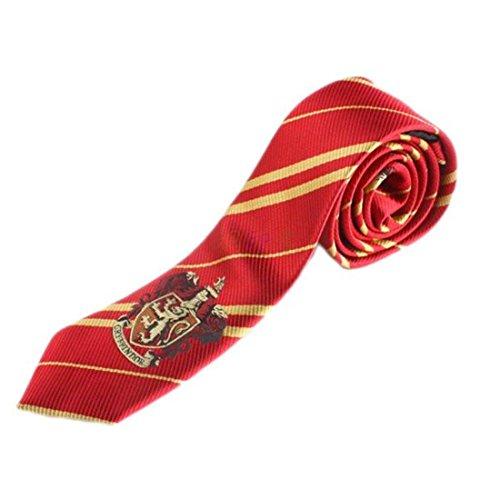 Harry Potter Hogwarts Kostüm Krawatte Griffindor Cosplay (Herren-harry-potter-kostüm)