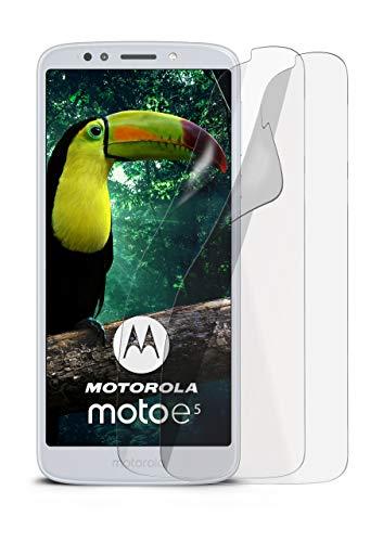 2X Motorola Moto E5   Schutzfolie Matt Bildschirm Schutz [Anti-Reflex] Screen Protector Fingerprint Handy-Folie Matte Bildschirmschutz-Folie für Motorola Moto E5 Bildschirmfolie