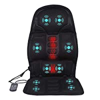 Massage Cushion,Full Body Massager Mat,Back Neck Lumbar Full Body Massaging Chair Heated Electric Mat Pad Massager for Home Car Office