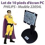 Philips A37G03040151ML Halterung, für Fuß Ecran 220S4L, 55,9 cm, 10 Stück