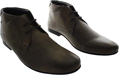 Base London Orbit, Chaussures de ville homme Gris
