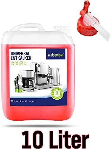 WoldoClean Entkalker-Kanister inkl. Ausgießer für Kaffeevollautomaten Kaffemaschine Vollautomat -...
