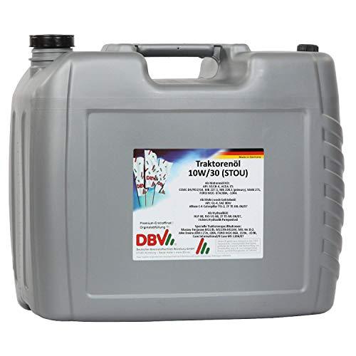 DBV-Traktorenöl SAE 10W/30 (STOU) 20-Liter-Kanister