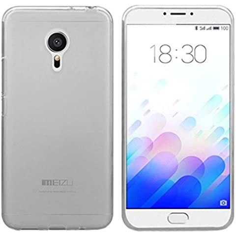 FUNDA de GEL TPU para MEIZU M3 NOTE COLOR TRANSPARENTE