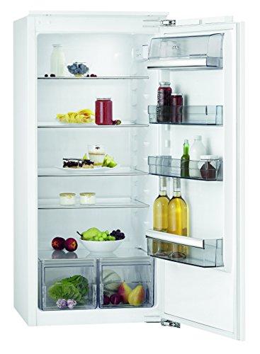 AEG SKB61221AF Kühlschrank / großer 202 Liter Einbaukühlschrank ohne Gefrierfach / mit Schnellkühlfunktion und Glasablagen / energieeffizienter Kühlschrank der Klasse A++ (103 kWh/Jahr) / Einbau-Höhe: 122,5 cm / weiß