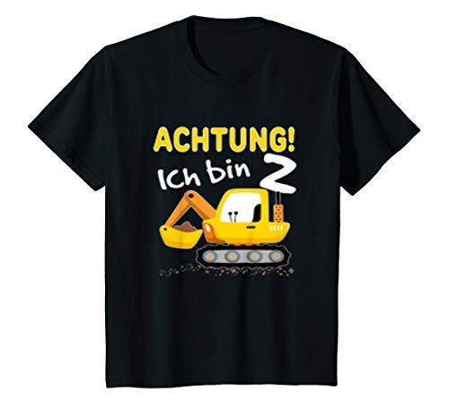 Bagger T-Shirt 2. Geburtstag Jungen 2 ()
