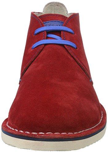 Sioux - Ursano-141, Scarpe stringate Uomo Rosso (Fire)
