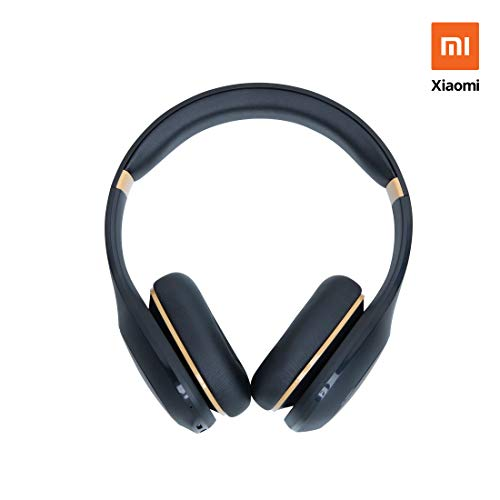 Mi Super Bass Wireless Headphones (Black and Gold)