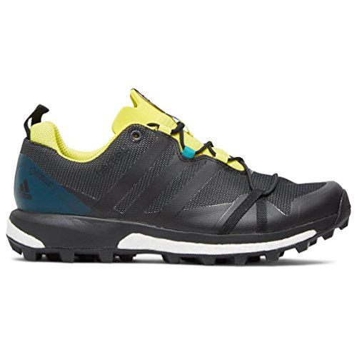 adidas Terrex Agravic GTX Dark Grey Black Yellow