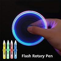Vivianu LED Spinning Pen Ball Pen Fidget Spinner Glow In Dark Light Kids Gift de vivianu