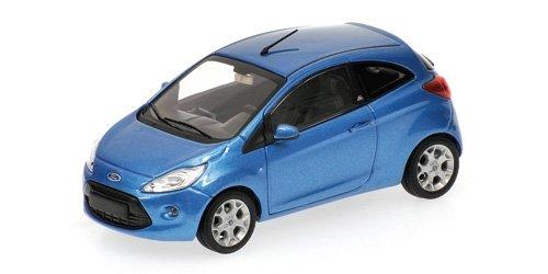 Preisvergleich Produktbild Minichamps 400088202 - Ford Ka, Maßstab: 1:43, metallic blau