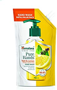 Himalaya Pure Hands | Deep Cleansing Tulsi and Lemon Hand Wash Refill - 750 ml