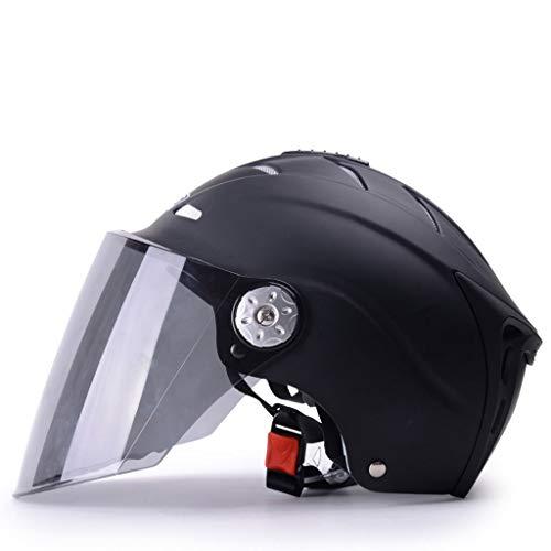 RMXMY Skateboard Helm Schlagfestigkeit Sicherer Helm Multi Sport für Fahrrad, Schlittschuhe, Sommer Sonnencreme UV Sommer Helm Licht Halbhelm bedeckt Helm Sommer elektrischer Motorradhelm