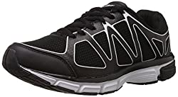 Columbus Mens I-Touch 2 Black and White Mesh Running Shoes - 8 UK (ITOUCH2BLKWHT008)