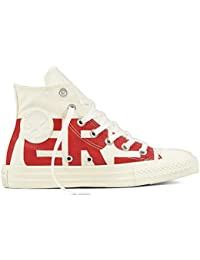 CONVERSE ALL STAR 160923C ROSSO BASSA ROSSA PLAYER OX CHUCK TAYLOR UNISEX ONE