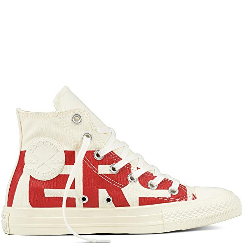Converse Chuck Taylor CTAS Hi Cotton, Chaussures de Fitness Mixte Adulte