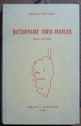 Mathieu Ceccaldi. Dictionnaire corse-français, Pieve d'Evisa par Mathieu Ceccaldi