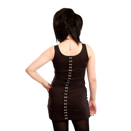 Heartless Clothing Damen Top KTW TOP schwarz Schwarz