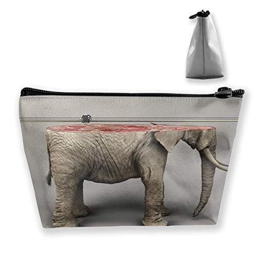 Elefant-Serie (6) Reise-Make-up-Taschen-Organisator-Aufbewahrungstasche Reisezubehör -