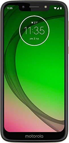 Motorola Moto G7 Play - Smartphone Android 9 (pantalla 5.7'' HD+ Max Vision, cámaras trasera 13MP, cámara selfie 8MP, 2GB de RAM, 32 GB, Dual SIM), color dorado [Versión española]