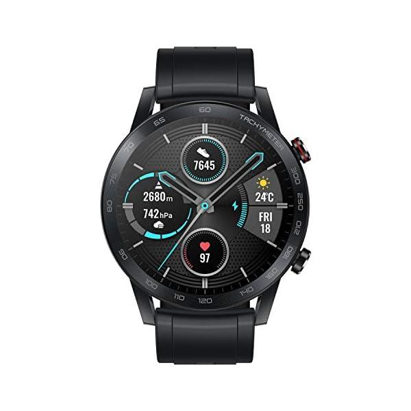 Honor MagicWatch 2 46 mm Smart Watch, con monitor de ritmo cardíaco y estrés, modos de ejercicio, aplicación para correr… 3