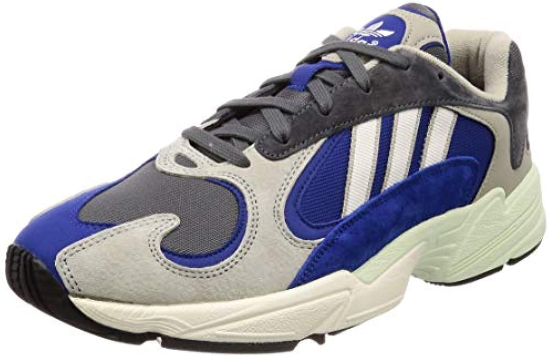 Adidas Scarpe Uomo scarpe da da da ginnastica Yung-1 in Tessuto Blu e Grigio AQ0902   I Clienti Prima    Gentiluomo/Signora Scarpa  ff3cd7
