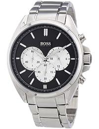 Hugo Boss Herren-Armbanduhr XL Chronograph Quarz Edelstahl 1512883