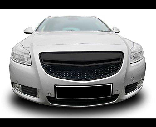 Waben- Gitter- Kühler- Sport- Front- Rippen- Grill ohne Emblem Schwarz - Grill Front Opel