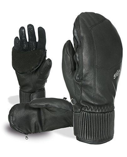 LEVEL HANDSCHUH FÄUSTLING 2IN1 SCHWARZ BLISS NEXY PLUS MITT PRIMALOFT® 8115LM.01 (S)